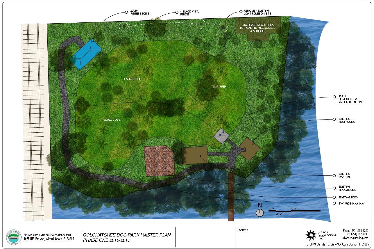 Wilton Manors Expands Dog Park at Colohatchee Park - Metropolitan